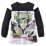Disney Women's Shirt - The Notorious MALEFICENT- Disney Villains Tabloid Cover
