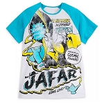 Disney Mens Shirt - Jafar - Phenomenal Cosmic Powers - Disney Villains Tabloid Cover