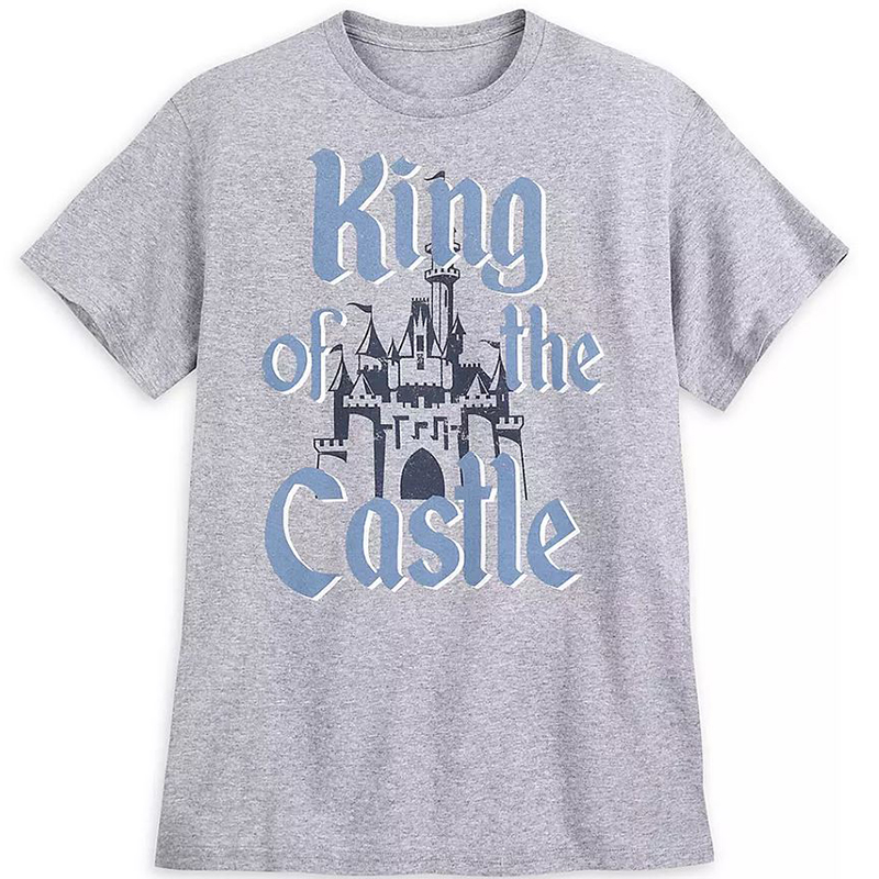Disney Men's Shirt - King of the Castle - Fantasyland