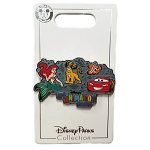 Disney Animation Resort Pin - Ariel,  Simba, Nemo, McQueen in color