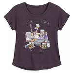 Disney Women's Shirt - Figment - Epcot International Food & Wine Festival