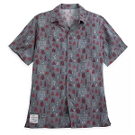 Disney Woven Adult Shirt - Epcot International Food & Wine Festival 2019