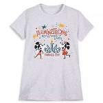 Disney Women's Shirt - Illuminations Reflections of Earth Farewell 2019