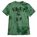 Disney Men's Shirt - FETT UP - Star Wars - Boba Fett