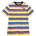 Disney Men's Shirt - Mickey Mouse - Walt Disney World - Striped