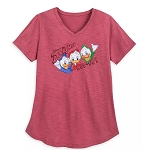 Disney Women's Shirt- Duck Tales WOO-OO! - Huey Dewey & Louie