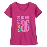 Disney Women's Shirt- Disney Character - Made In The 80's