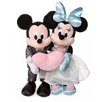 Disney Plush Set - Mickey & Minnie Mouse Wedding