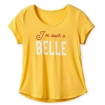 Disney Women's Shirt - I'm Such A Belle