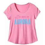 Disney Women's Shirt - I'm Such An Aurora