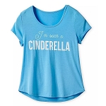 Disney Women's Shirt - I'm Such A Cinderella
