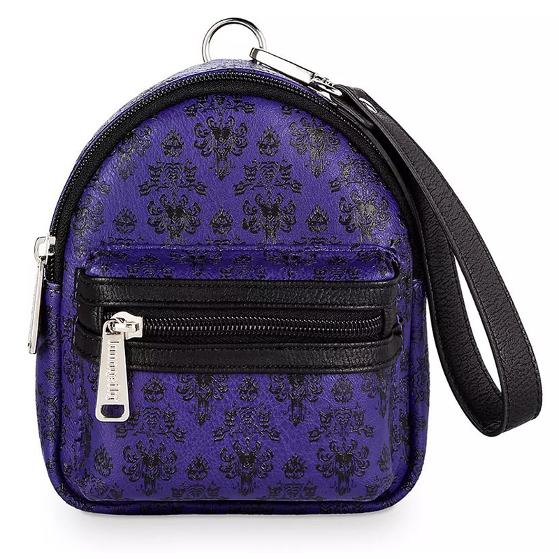 Disney Loungefly Bag - The Haunted Mansion Wallpaper - Wristlet Backpack