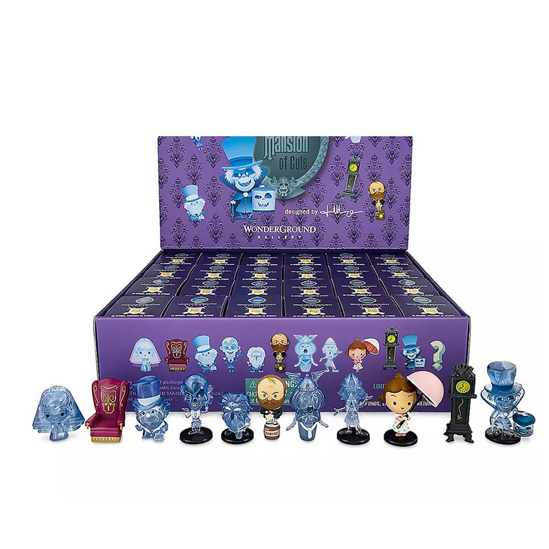 Disney Vinylmation Figure Set - The Haunted Mansion of Cute - Tray