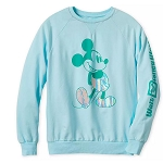 Disney Women's Sweatshirt - Mickey Mouse - Arendelle Aqua
