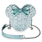 Disney Loungefly Bag - Minnie Mouse Icon - Arendelle Aqua - Crossbody