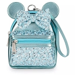 Disney Loungefly Bag - Minnie Mouse Icon - Arendelle Aqua - Backpack Wristlet