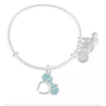 Disney Alex and Ani Bracelet - Minnie Mouse Ears - Arendelle Aqua