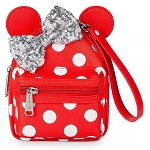 Disney Loungefly Bag - Minnie Mouse Polkadots - Backpack Wristlet
