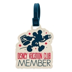 Disney Luggage Tag - Mickey Disney Vacation Club Member