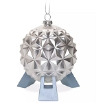Disney Glass Ornament - Spaceship Earth