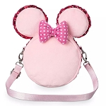 Disney Plush Bag - Minnie Mouse Macaron - Crossbody