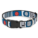 Disney Designer Breakaway Pet Collar - R2D2 Bounding Parts