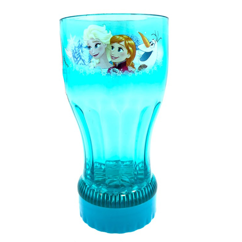 NEW Disney Frozen Light Up Tumbler Plastic Cup Fall Halloween Party Olaf Fun