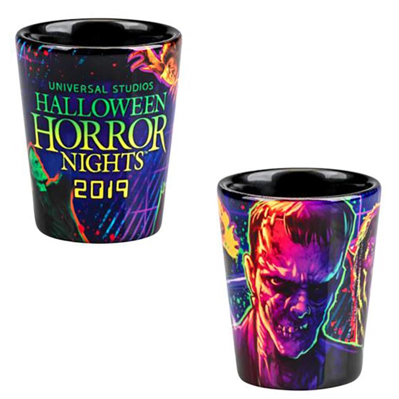 HHN 2018 Universal Studios Halloween Horror Nights Lanyard Skull Light Up NWT