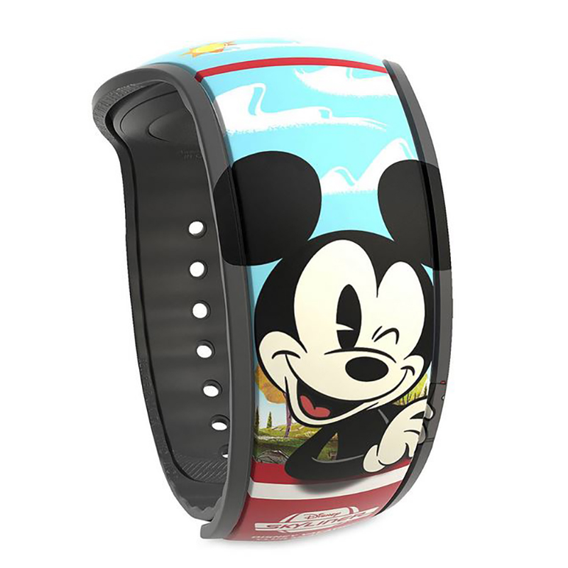 Disney MagicBand 2 Bracelet - Mickey & Minnie Mouse Skyliner - Limited Edition