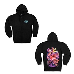 Universal Adult Sweatjacket - Halloween Horror Nights 2019 Logo - Black Light Reactive