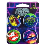 Universal Button Set - Ghostbusters - Halloween Horror Nights 2019