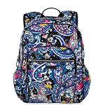 Disney Vera Bradley Bag - Whimsical Paisley - Campus Backpack