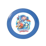 Disney Plate - Disneyland Diamond Celebration - Park Icons & Jiminy Cricket - 7''