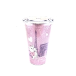 Disney Tumbler with Straw - Marie - With Love From Paris - Epcot World Showcase