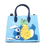 Disney Loungefly Bag - Stitch Pineapple Chenille Tote