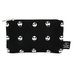 Disney Loungefly Bag - Jack Skellington Heads - Nylon Pouch