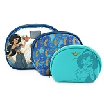 Disney Loungefly 3pc Cosmetic Set - Princess Jasmine