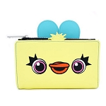 Disney Loungefly Bag - Toy Story Duck Bunny - Top Zip Wallet