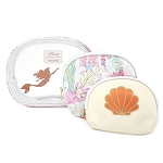 Disney Loungefly 3pc Cosmetic Set - Ariel Rose Gold
