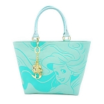 Disney Loungefly Bag - Ariel The Little Mermaid  - Debossed Tote