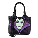 Disney Loungefly Bag - Maleficent Head - Tote