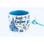 Disney Holiday Ornament - Starbucks Mug Magic Kingdom