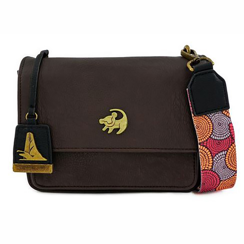 Disney Loungefly Bag - Simba - The Lion King - African Floral Print - Crossbody