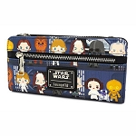 Disney Loungefly Bag - Star Wars Chibi Battle Station Line Up Flap Wallet