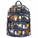 Disney Loungefly Bag - Star Wars Chibi Battle Station Line Up - Mini Backpack