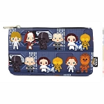 Disney Loungefly Bag - Star Wars Chibi Battle Station Line Up - Nylon Pouch