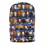Disney Loungefly Bag - Star Wars Chibi Battle Station Line Up Nylon Backpack