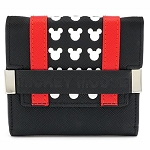 Disney Loungefly Bag - Mickey Mouse - Black & Red - Trifold Wallet