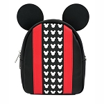 Disney Loungefly Bag - Mickey Mouse - Black & Red - Convertible Backpack