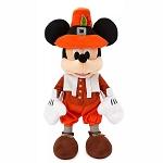 Disney Plush - Pilgrim Mickey Mouse - Thanksgiving - 12''